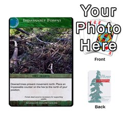 Advanced Outdoor Survival Forest And Desert Encounter Deck By Michael   Playing Cards 54 Designs   Jf3o4cc8g3ml   Www Artscow Com Front - Diamond5