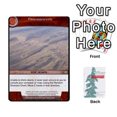 Advanced Outdoor Survival Forest And Desert Encounter Deck By Michael   Playing Cards 54 Designs   Jf3o4cc8g3ml   Www Artscow Com Front - Diamond9