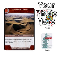 Advanced Outdoor Survival Forest And Desert Encounter Deck By Michael   Playing Cards 54 Designs   Jf3o4cc8g3ml   Www Artscow Com Front - Club2