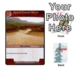 Advanced Outdoor Survival Forest And Desert Encounter Deck By Michael   Playing Cards 54 Designs   Jf3o4cc8g3ml   Www Artscow Com Front - Club4