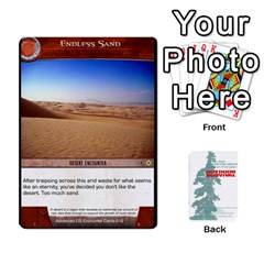 Queen Advanced Outdoor Survival Forest And Desert Encounter Deck By Michael   Playing Cards 54 Designs   Jf3o4cc8g3ml   Www Artscow Com Front - ClubQ