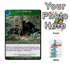 Advanced Outdoor Survival Forest And Desert Encounter Deck By Michael   Playing Cards 54 Designs   Jf3o4cc8g3ml   Www Artscow Com Front - Spade9
