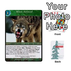 Advanced Outdoor Survival Forest And Desert Encounter Deck By Michael   Playing Cards 54 Designs   Jf3o4cc8g3ml   Www Artscow Com Front - Spade10