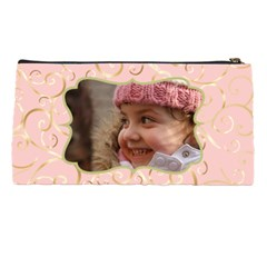 Name And Photo Pink Pencil Case By Deborah   Pencil Case   B0a2ymjp2dx6   Www Artscow Com Back