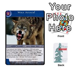 Advanced Outdoor Survival Predators By Michael   Playing Cards 54 Designs   Tn4x273s4afr   Www Artscow Com Front - Joker1