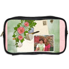 Spring Toiletry Bag By Eleanor Norsworthy   Toiletries Bag (two Sides)   4hict414twm3   Www Artscow Com Back