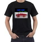 fast cars   -t-shirt - Men s T-Shirt (Black)
