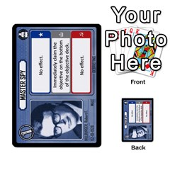 Cold War Cia Vs Kgb 3 Players By Heath Doerr   Multi Purpose Cards (rectangle)   8dggt66ngh9q   Www Artscow Com Front 8