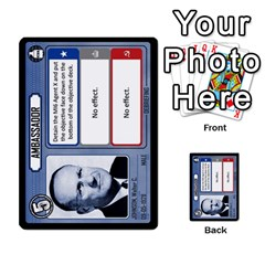 Cold War Cia Vs Kgb 3 Players By Heath Doerr   Multi Purpose Cards (rectangle)   8dggt66ngh9q   Www Artscow Com Front 9