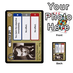 Cold War Cia Vs Kgb 3 Players By Heath Doerr   Multi Purpose Cards (rectangle)   8dggt66ngh9q   Www Artscow Com Front 10