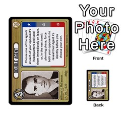 Cold War Cia Vs Kgb 3 Players By Heath Doerr   Multi Purpose Cards (rectangle)   8dggt66ngh9q   Www Artscow Com Front 12