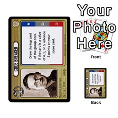 Cold War Cia Vs Kgb 3 Players By Heath Doerr   Multi Purpose Cards (rectangle)   8dggt66ngh9q   Www Artscow Com Front 16