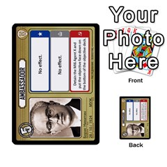 Cold War Cia Vs Kgb 3 Players By Heath Doerr   Multi Purpose Cards (rectangle)   8dggt66ngh9q   Www Artscow Com Front 17