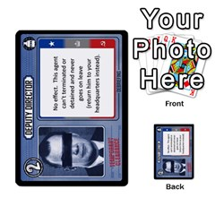 Cold War Cia Vs Kgb 3 Players By Heath Doerr   Multi Purpose Cards (rectangle)   8dggt66ngh9q   Www Artscow Com Front 3