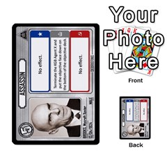 Cold War Cia Vs Kgb 3 Players By Heath Doerr   Multi Purpose Cards (rectangle)   8dggt66ngh9q   Www Artscow Com Front 22