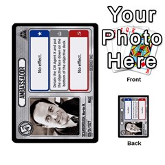 Cold War Cia Vs Kgb 3 Players By Heath Doerr   Multi Purpose Cards (rectangle)   8dggt66ngh9q   Www Artscow Com Front 25