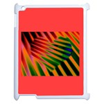 jungle drum  heart 2 on ipad2 - Apple iPad 2 Case (White)