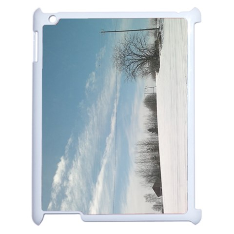 The  Winter View (ipad2) By Riksu   Apple Ipad 2 Case (white)   B933qkc9ox2m   Www Artscow Com Front
