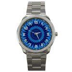 Blue Lagoon Sport Metal Watch