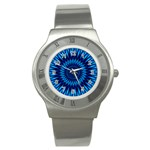 Blue Lagoon Stainless Steel Watch