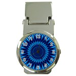 Blue Lagoon Money Clip Watch