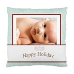happy holiday - Standard Cushion Case (Two Sides)