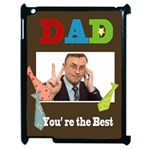 dad - Apple iPad 2 Case (Black)