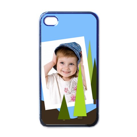 Kids By Wood Johnson   Apple Iphone 4 Case (black)   Hsyy3yaqdlb1   Www Artscow Com Front