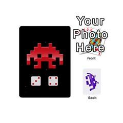 Jack 8 Bit Mini By Daniel Cassar   Playing Cards 54 (mini)   Axacabfmmvzf   Www Artscow Com Front - SpadeJ