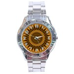 Golden Lagoon Stainless Steel Analogue Men's Watch
