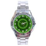 Green Lagoon Stainless Steel Analogue Men's Watch