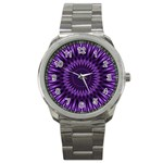 Lilac Lagoon Sport Metal Watch