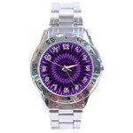 Lilac Lagoon Stainless Steel Analogue Men's Watch