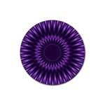 Lilac Lagoon Rubber Round Coaster (4 pack)