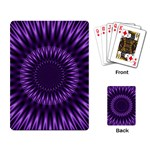 Lilac Lagoon Playing Cards Single Design