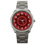 Red Lagoon Sport Metal Watch