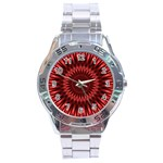 Red Lagoon Stainless Steel Analogue Men's Watch
