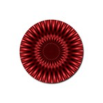 Red Lagoon Rubber Round Coaster (4 pack)