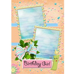 Happy Birthday 5x7 Card A By Snackpackgu   Greeting Card 5  X 7    Hst3kc45mbb4   Www Artscow Com Front Inside