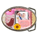 happy mother - Belt Buckle