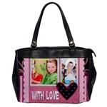 with love - Oversize Office Handbag