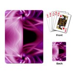 Pink Twist Playing Cards Single Design