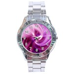 Pink Twist Stainless Steel Analogue Men's Watch