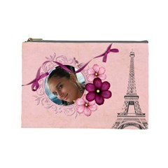 French Quarter   Cosmetic Bag 2 (large) By Picklestar Scraps   Cosmetic Bag (large)   Qlm23zsh9ndb   Www Artscow Com Front