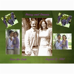 Save The Dates  Decamillo By Lindsey Hayes   5  X 7  Photo Cards   K33ffo5idy05   Www Artscow Com 7 x5 Photo Card - 2