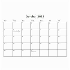 Nonna By Jennifer Mayer   Wall Calendar 8 5  X 6    M70v1nwstq7n   Www Artscow Com Oct 2012