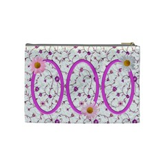 Country Daisy Medium Cosmetic Bag By Deborah   Cosmetic Bag (medium)   473a64pb28e7   Www Artscow Com Back