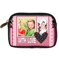 With Love By Mac Book   Digital Camera Leather Case   Nwtekds62o4f   Www Artscow Com Front