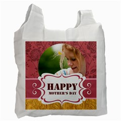 Mothers Day By Joely   Recycle Bag (two Side)   1ugdn71ub131   Www Artscow Com Front