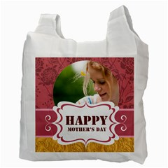 Mothers Day By Joely   Recycle Bag (two Side)   1ugdn71ub131   Www Artscow Com Back